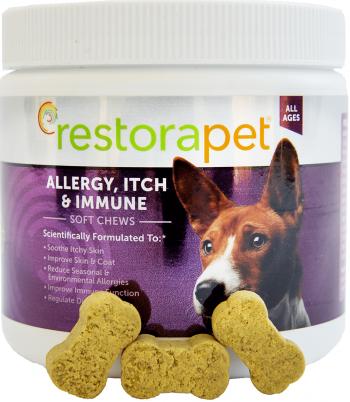 restorapet allergy itch and immune chews 3